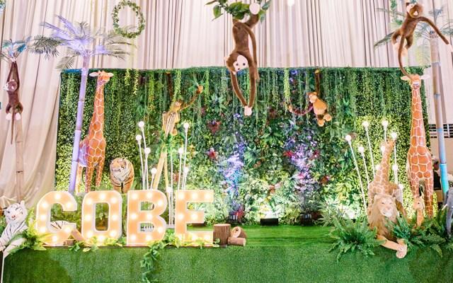 Cobe's Jungle Safari Themed Party – 7th Birthday