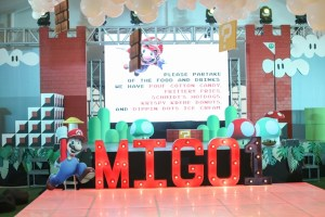Migo's Super Mario Themed Party – 1st Birthday