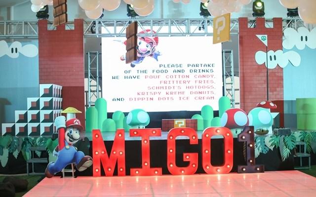 Migo's Super Mario Themed Party – 1st Birthday