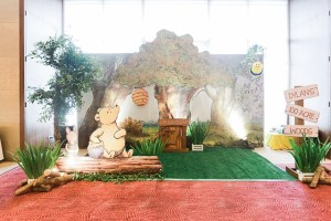 Dylan's Happy Hundred Acre Wood Themed Party – 2nd Birthday