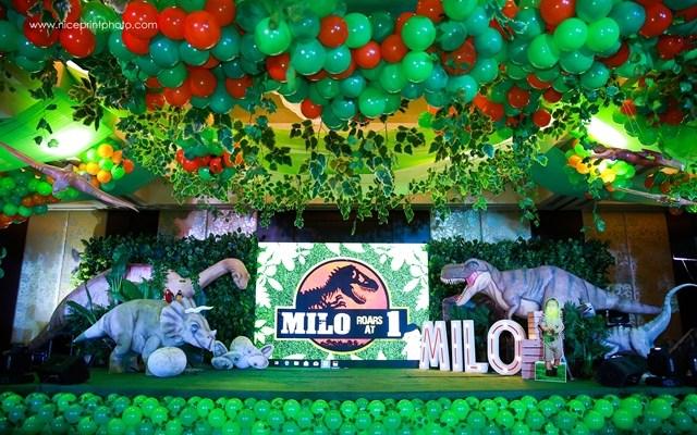 Milo's Jurassic Park Themed Party – 1st Birthday