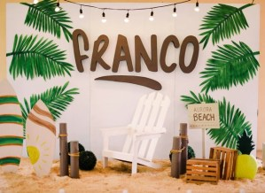 Franco's Tropical Surf Themed Party – 1st Birthday