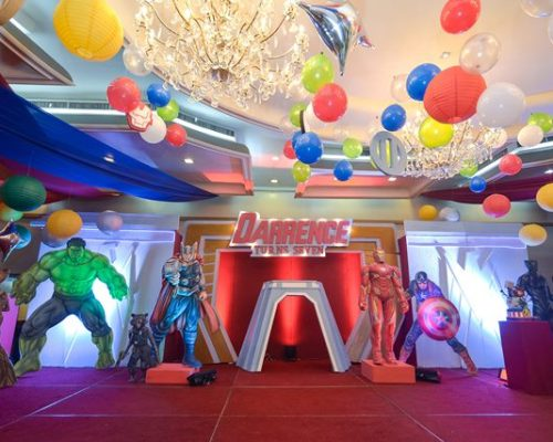 "Darrence's ""The Avengers"" Themed Party – 7th Birthday"