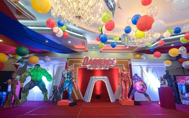 """Darrence's """"The Avengers"""" Themed Party – 7th Birthday"""