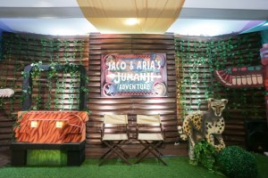 Jaco and Aria's Jumanji Adventure Themed Party