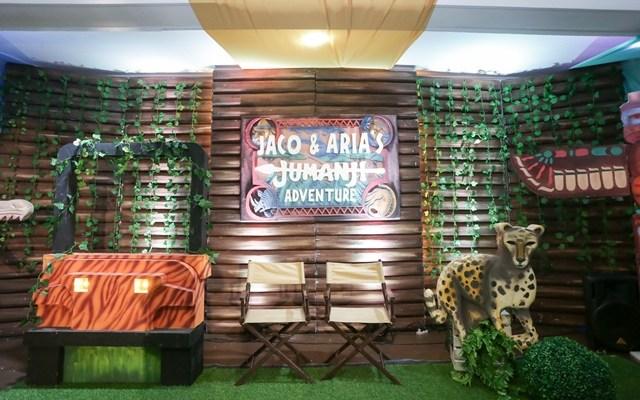 Jaco and Aria's Jumanji Adventure Themed Party