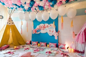 Sofia's Slumber Party – 7th Birthday