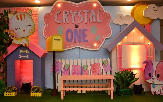 Crystal's Puppies and Kittens Themed Party – 1st Birthday