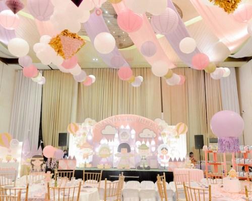 "Amanda Laureen's ""It's a Small World"" Themed Party – 1st Birthday"