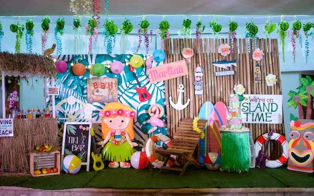 Martina's Hawaiian Luau Themed Party – 1st Birthday