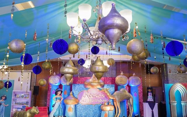 Reese's Princess Jasmine Themed Party – 7th Birthday
