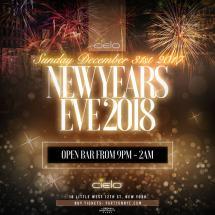 Cielo Years Eve 2018 Nyc - Party