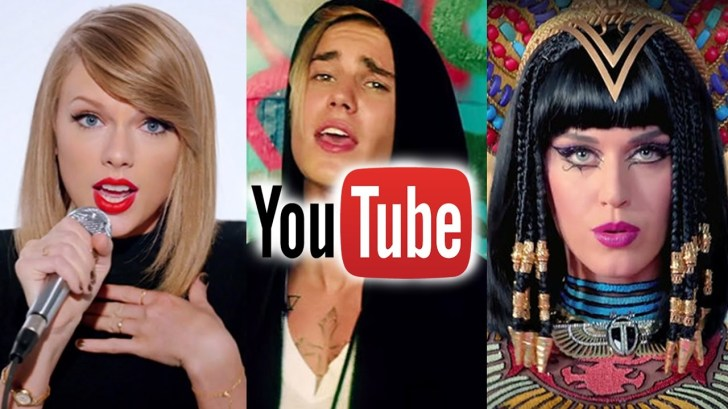All-Music-Videos-With-1-Billion-Views