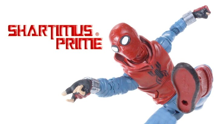 Marvel-Legends-Homemade-Suit-Spider-Man-Homecoming-Movie-Vulture-BAF-Action-Figure-Toy-Review