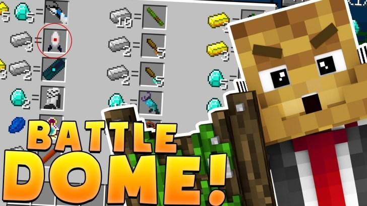 Minecraft-OP-WEAPONS-AND-GRAVITY-GUNS-MODDED-BATTLEDOME-CHALLENGE-Minecraft-Mod