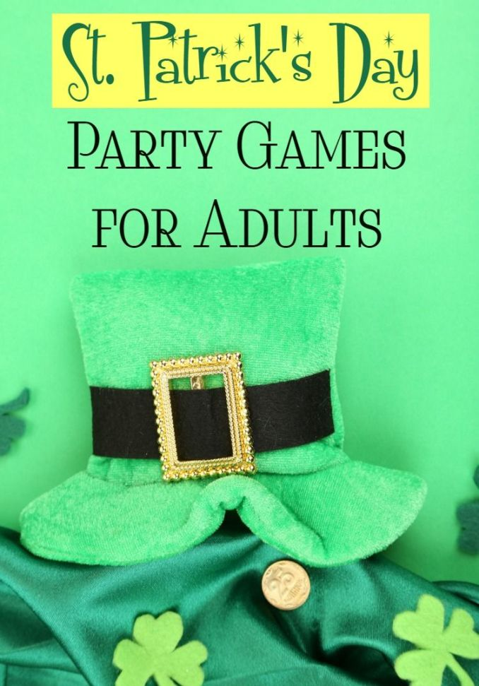 saint patrick's day party games