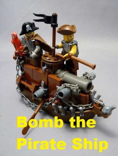 Bomb the Pirate Ship