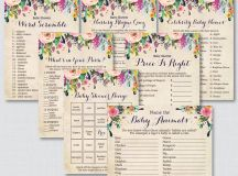 Garden Party Invitations, Centerpieces, Place Cards ...
