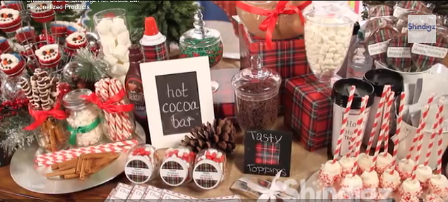 Warm Up Your Winter Holiday Party With A Hot Cocoa Bar