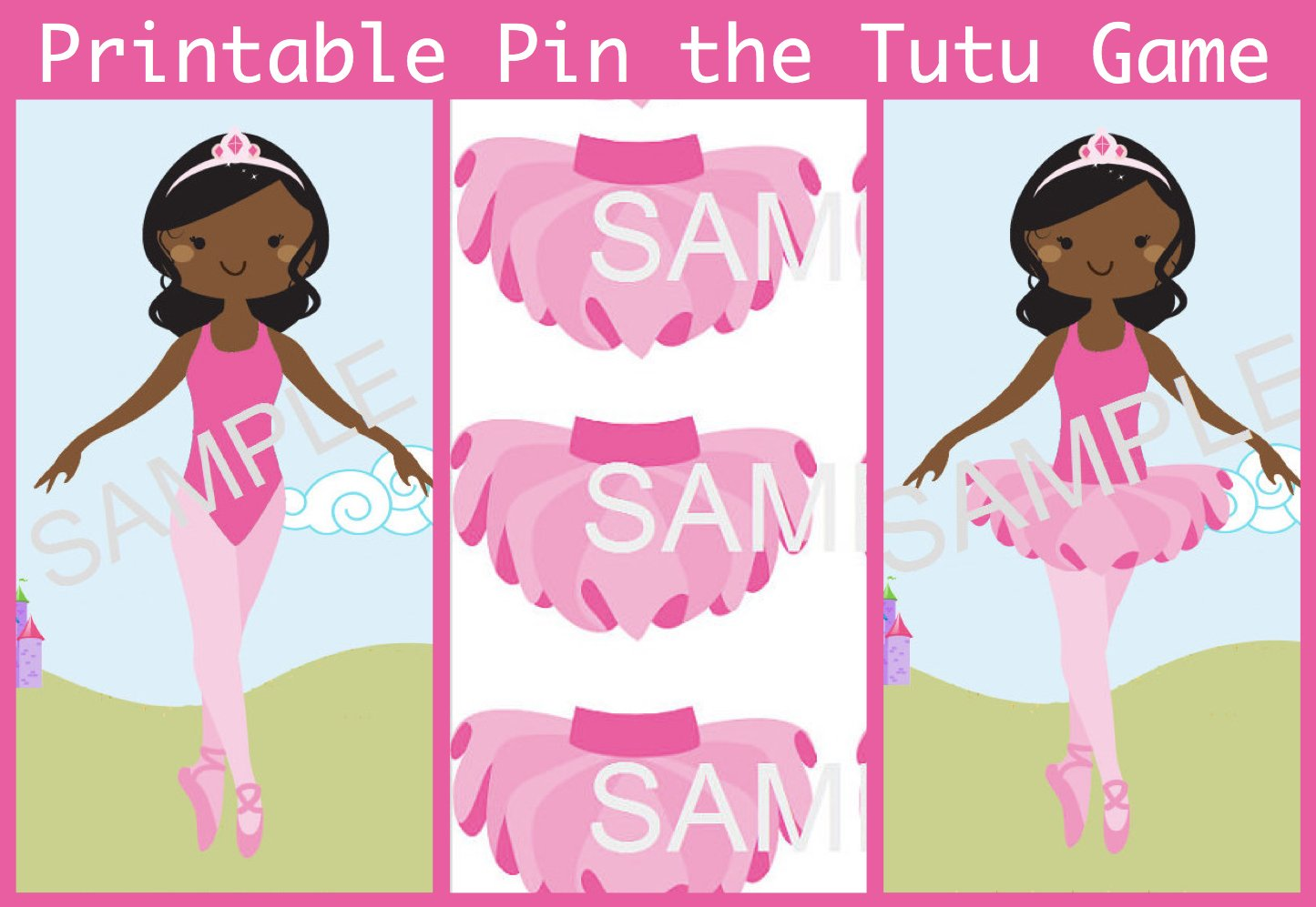 Pink Ballerina Tutu Party Planning, Ideas & Supplies