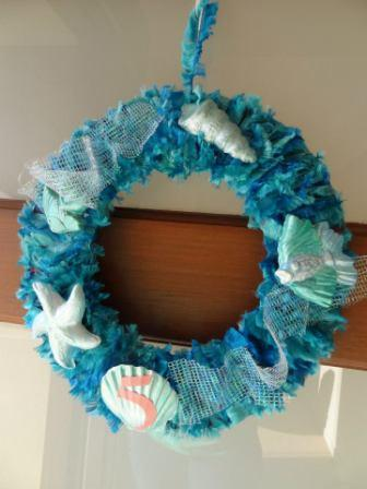 Under the sea wreath