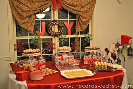 Christmas Party Table Decorations Ideas.Party Ideas Traditional Christmas Party Ideas