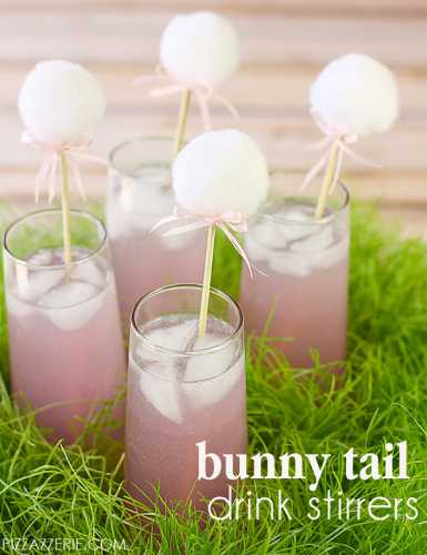Bunny-Tail-Drink-Stirrers