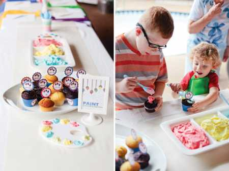 Throw a Colorful Painting Themed Birthday Party