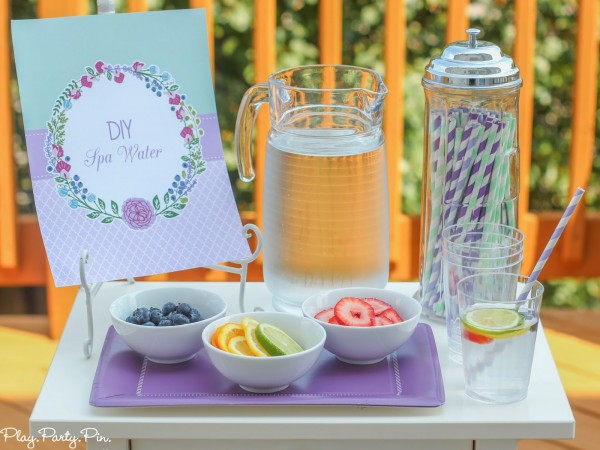 pamper friends with a diy spa party party ideas