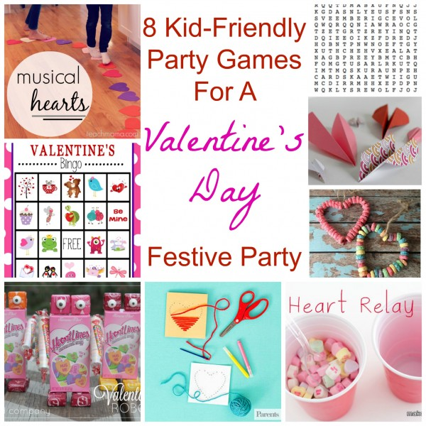 8 Kid-Friendly Party Games For A Valentine's Day Festive