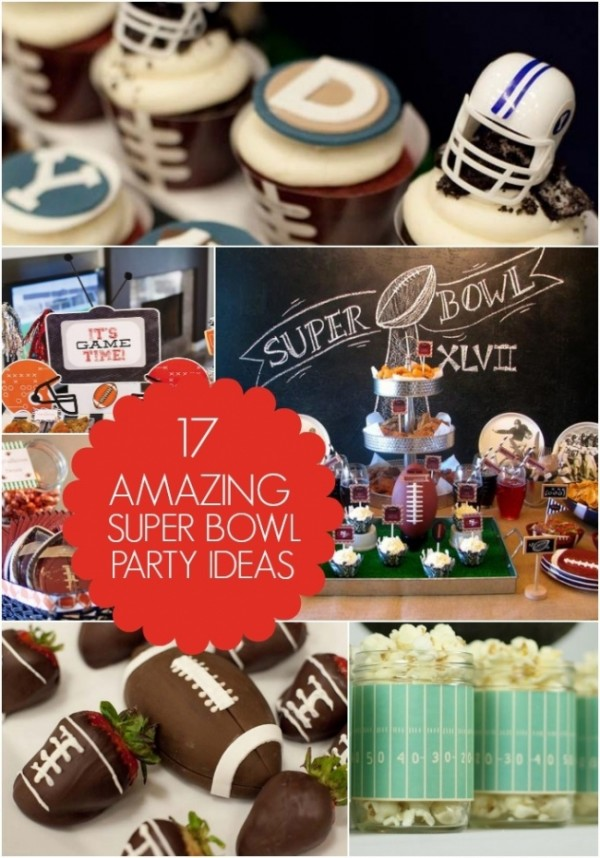 17 Amazing Super Bowl Party Ideas Party Ideas