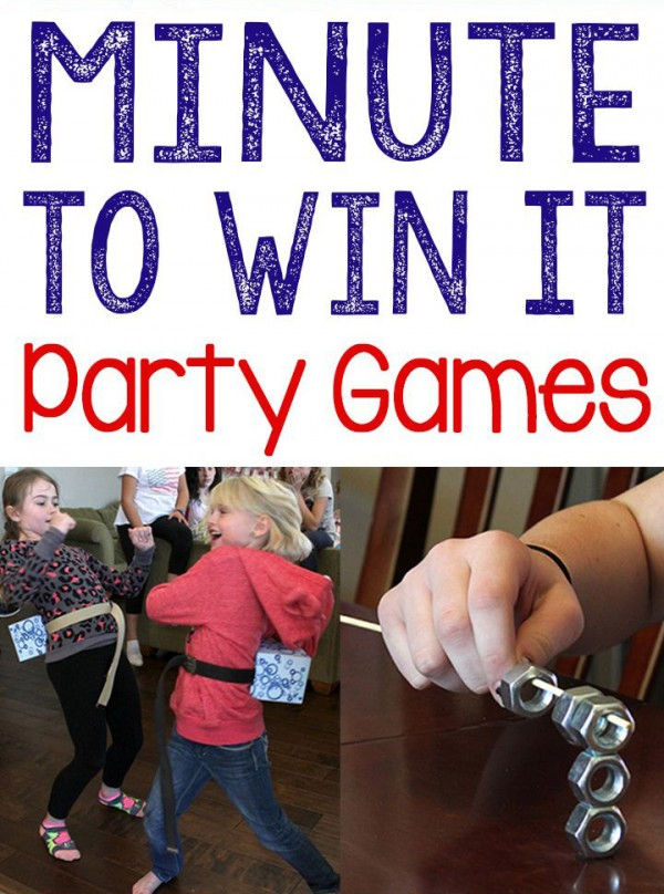 20 Easy Minute to Win It Games for Kids   Happy Mom Hacks