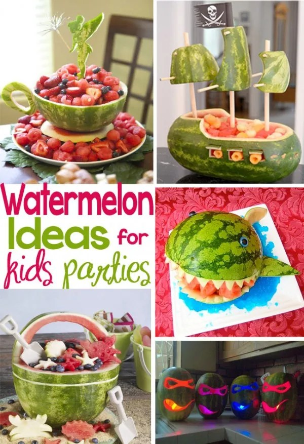 Watermelon Ideas For Kids Parties Party Ideas
