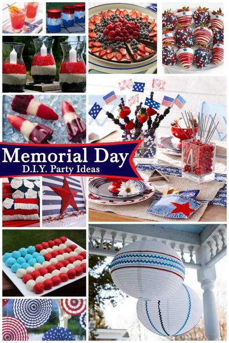 Diy party ideas for memorial day