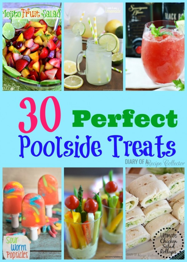 30 Perfect Poolside Treats Party Ideas