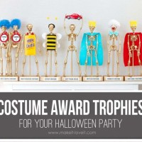 Create Custom Trophies for Your Halloween Costume Contest