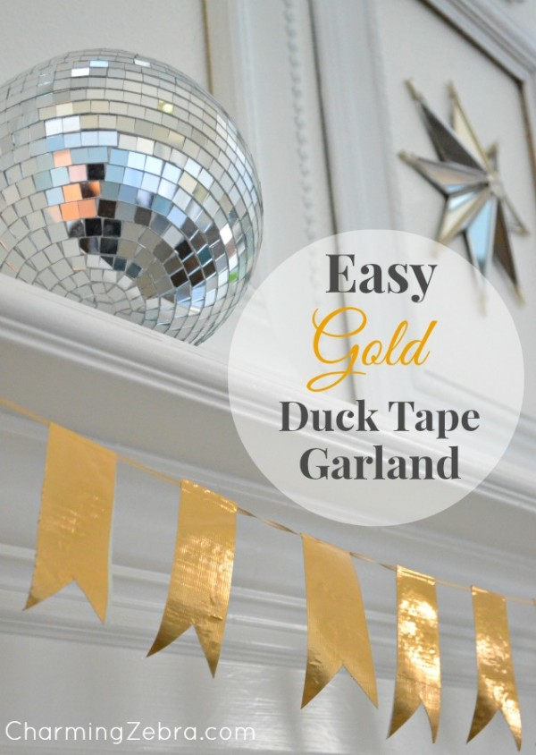 duct tape garland
