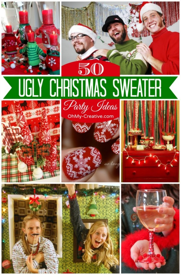 ugly christmas sweater party ideas final