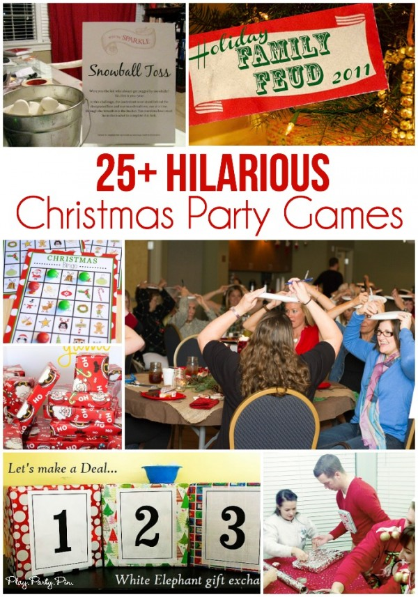 ideas for christmas party activities