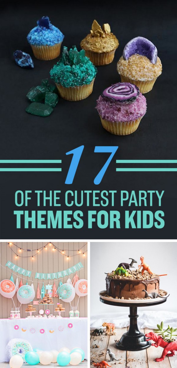 17 Cute Party Themes For Kids