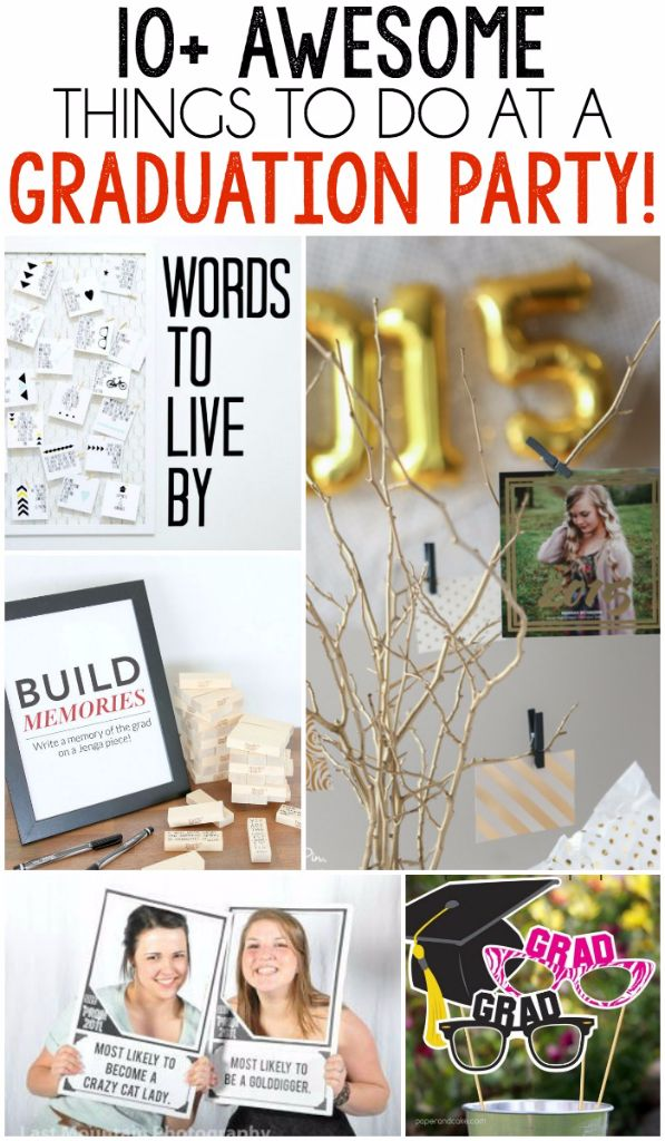 10 Graduation Party Games And Activities Ideas
