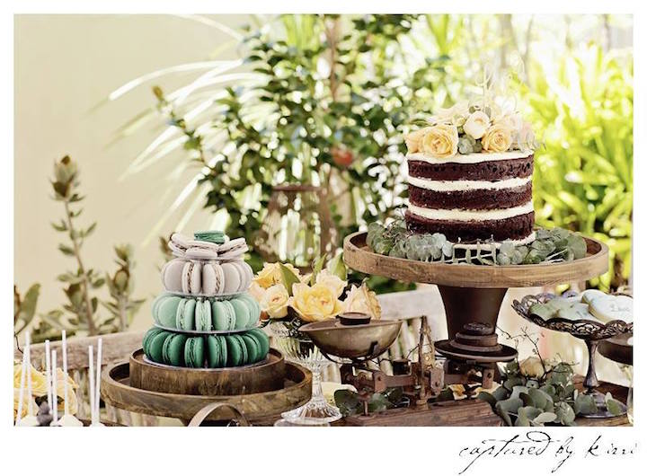 Outdoor Country Wedding Shower Ideas: Rustic Outdoor Bridal Shower