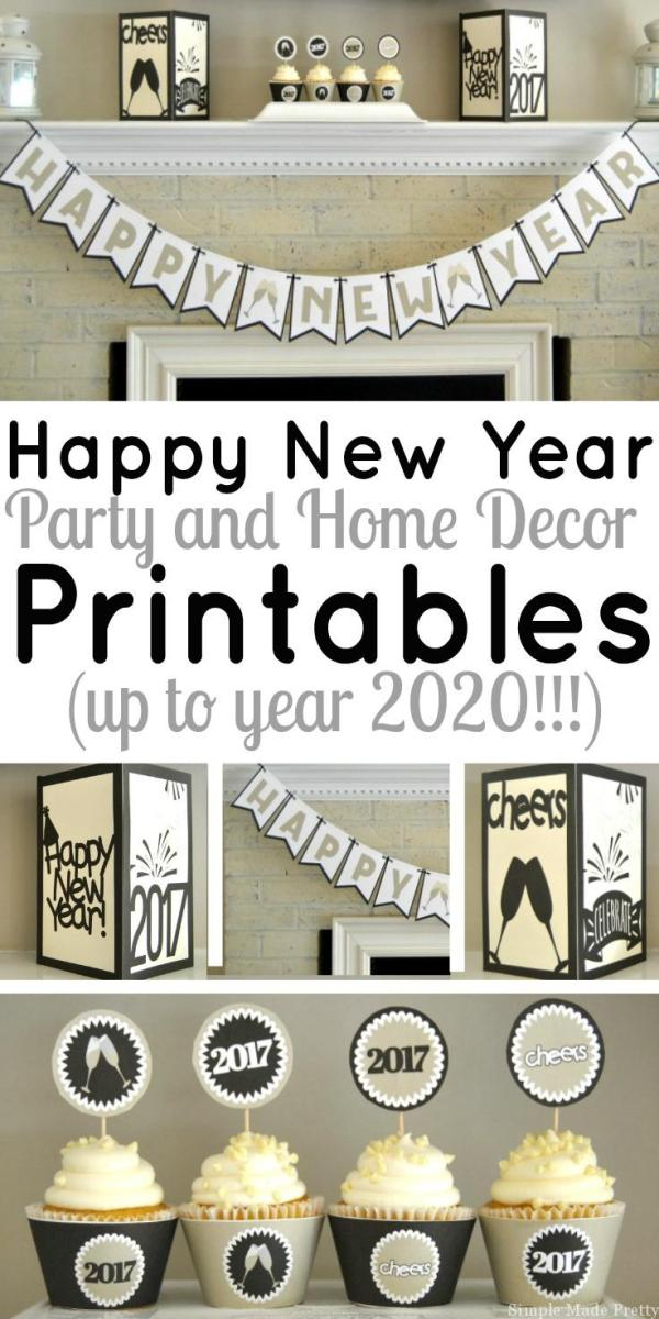 Last Minute Party? Print These Decorations – Party Ideas