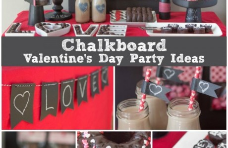 Chalkboard Valentines Party