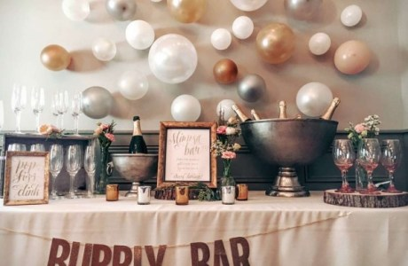 DIY Bubbly Bar
