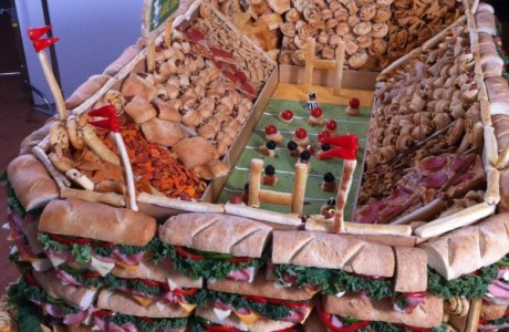 Football Sandwich Bar