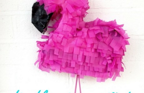 How To Make A Flamingo Pinata