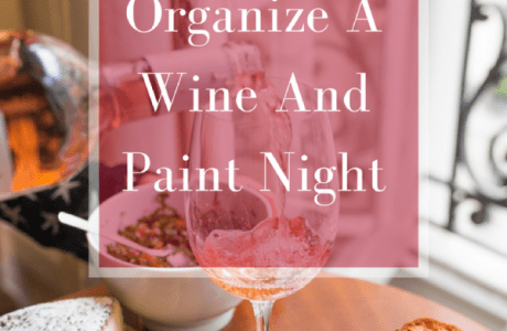 Oraganize A Wine And Paint Night At Home