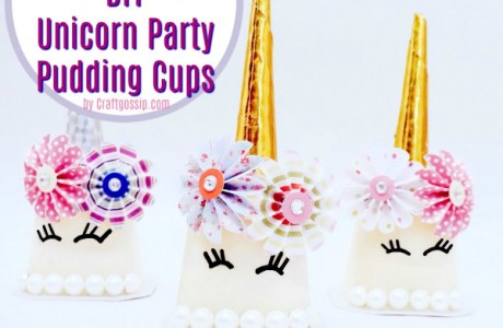Party Food – Unicorn Pudding Cups