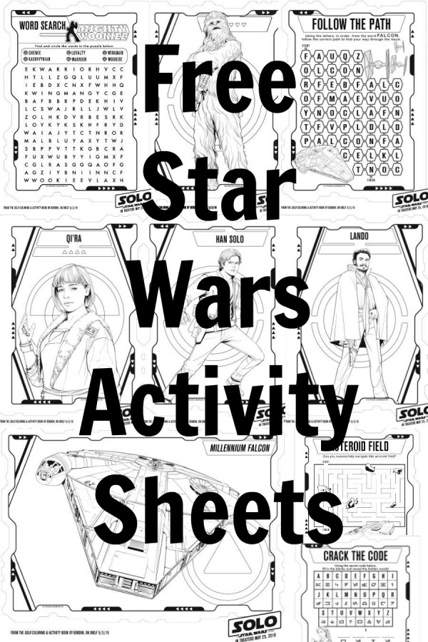 Solo A Star Wars Party Printables